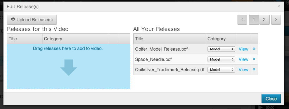 Upload and Attach Releases