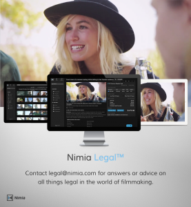 Nimia legal (3 Screens)